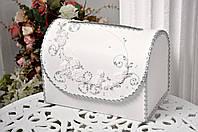 Сундучок свадебный для денег Bonita белый