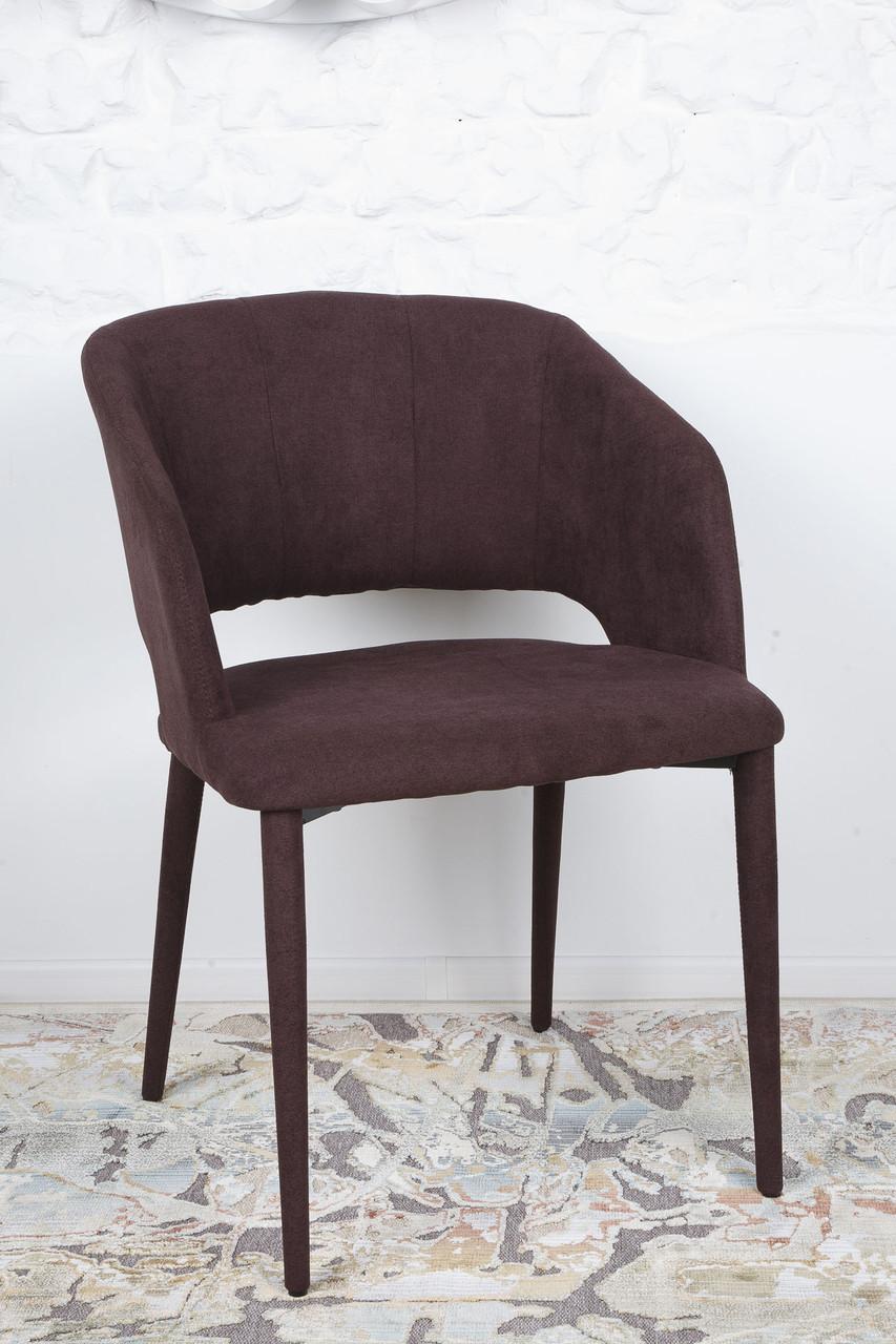 Стул ANDORRA  (Андорра) коричневый от Niсolas, ткань