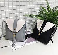 Плоская стильная повседневная кожаная сумка барсетка Различные цвета  Каждодневный стиль Код: КГ5923, фото 1