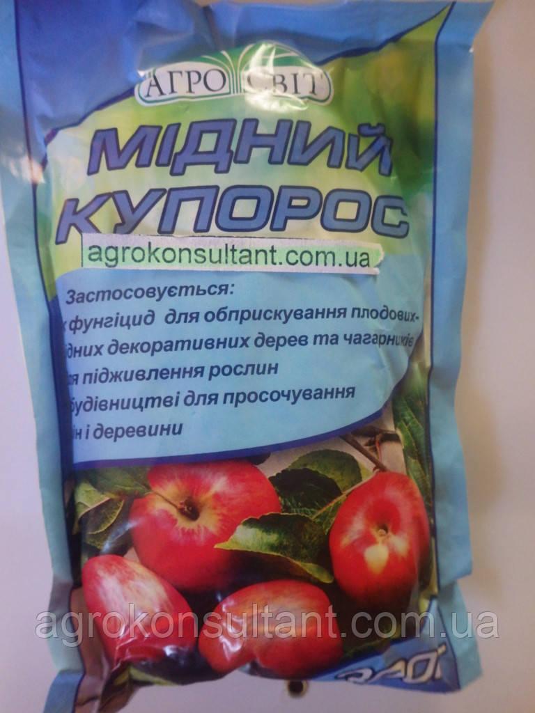 Медный купорос, 300 г — профилактика заболеваний сада