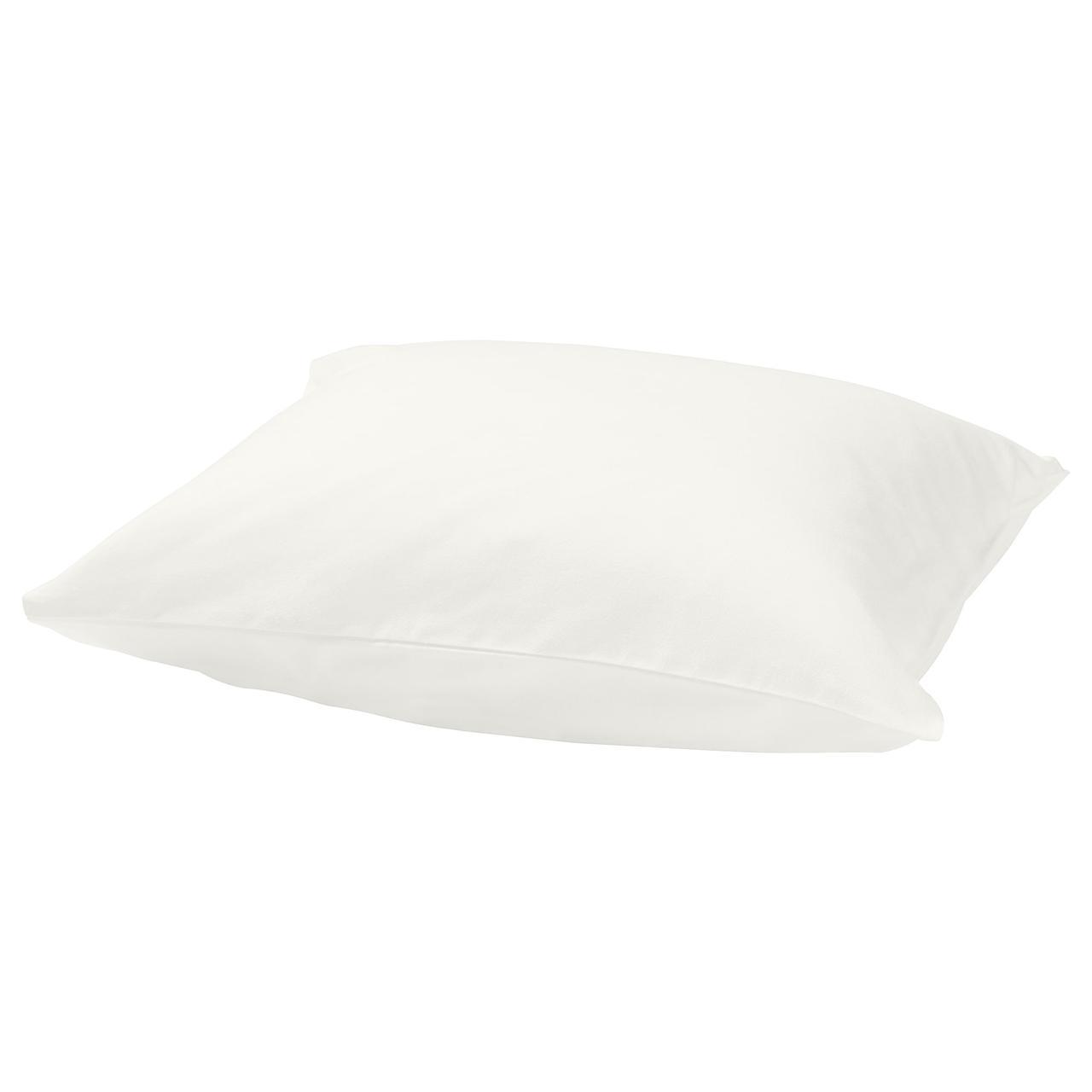 Наволочка на подушку IKEA NORDRUTA 50x60 см белая 003.818.20