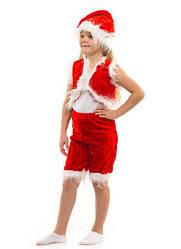 Карнавальный костюм ГНОМ унисекс на 3-7 лет, 104-122 см. детский новогодний костюм Гном, маскарад