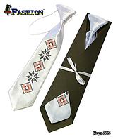 Детский вышитый галстук Наум