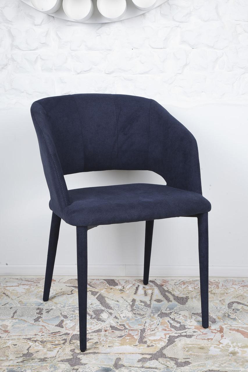 Стул ANDORRA  (Андорра) темно-синий от Niсolas, ткань