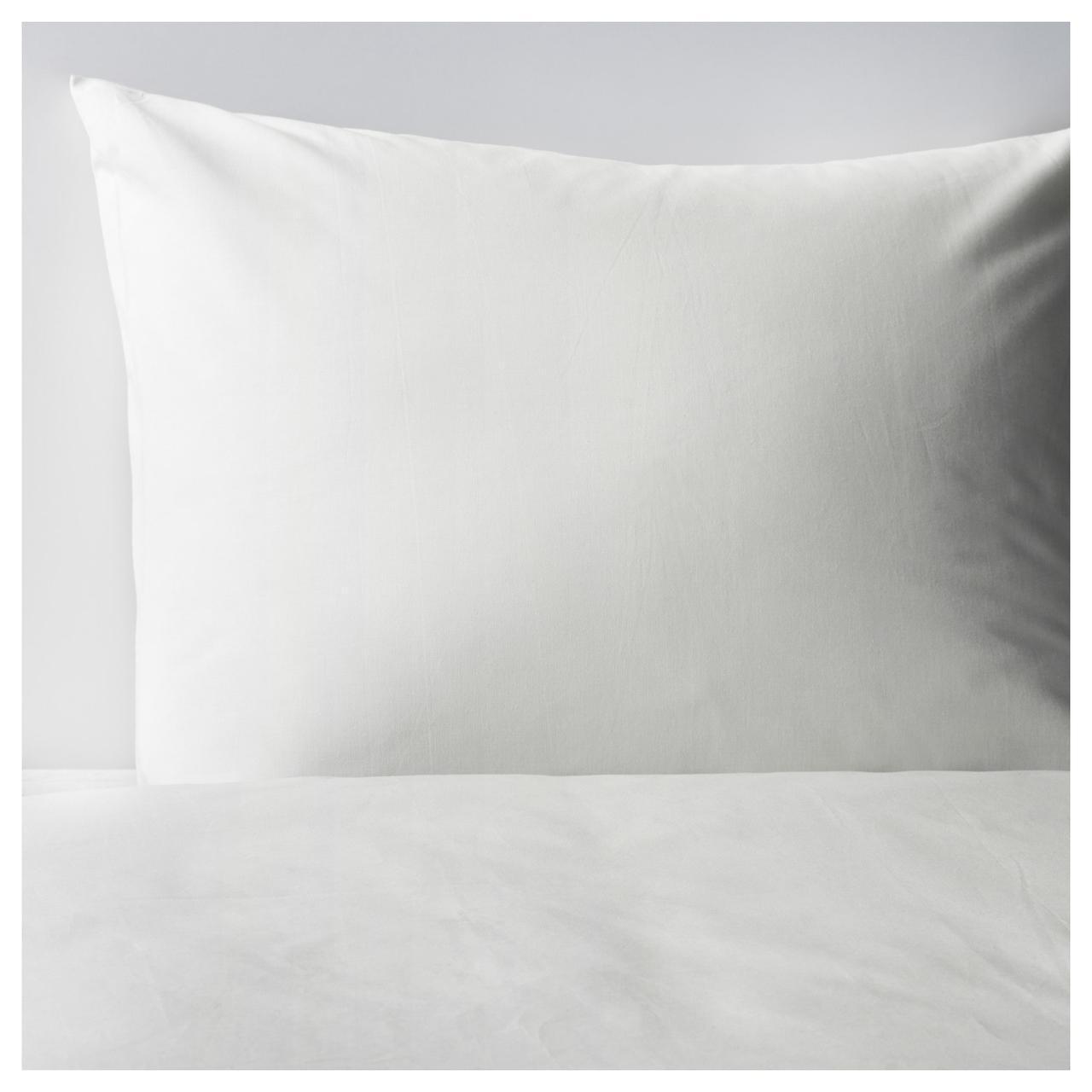 Комплект постельного белья IKEA FÄRGMÅRA 200х200 см белый 403.894.47