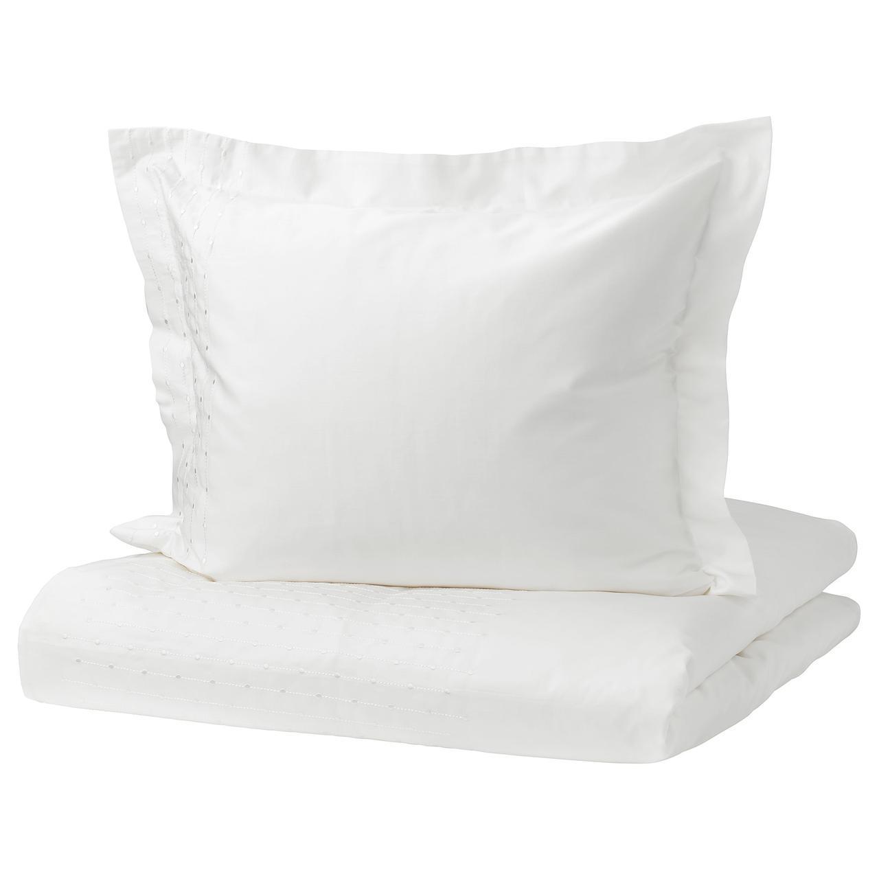 Комплект постельного белья IKEA PRAKTVIVA 150х200 см белый 803.797.76