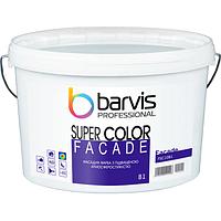 Акриловая фасадная краска BARVIS Facade Super Color B1 10 л