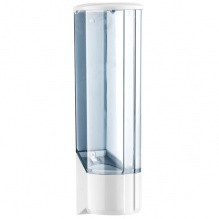 Диспенсер одноразових стаканчиків Прозорий ДхШхВ 100х90х305 мм місткість 60 шт