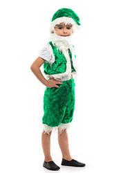 Карнавальный костюм ГНОМ унисекс, на 3-7 лет, 104-122 см, детский новогодний костюм Гном, маскарад