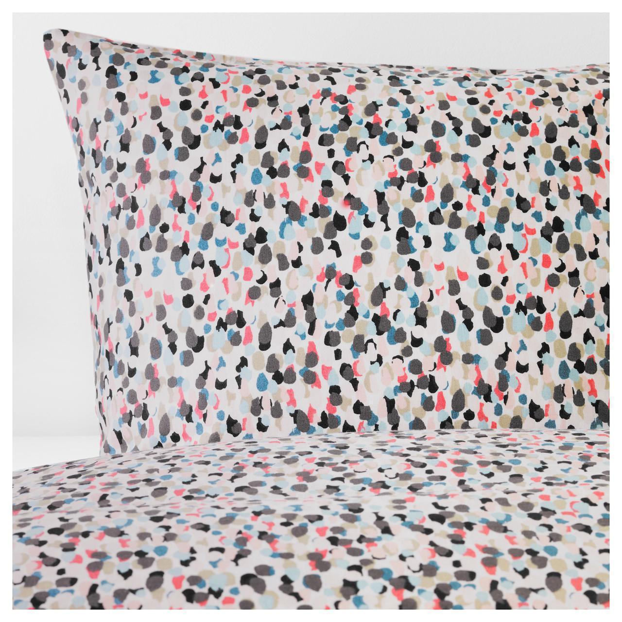 Комплект постельного белья IKEA SMÅSTARR 200х220 см разноцветный 104.033.79