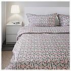 Комплект постельного белья IKEA SMÅSTARR 200х220 см разноцветный 104.033.79, фото 3