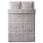Комплект постельного белья IKEA SMÅSTARR 200х220 см разноцветный 104.033.79, фото 4