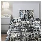 Комплект постельного белья IKEA SKOGSLÖNN 150х200 см разноцветная текстура 503.375.37, фото 5