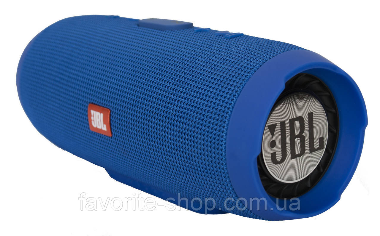 JBL Charge 3 портативная акустическая система с поддержкой Bluetooth, синяя