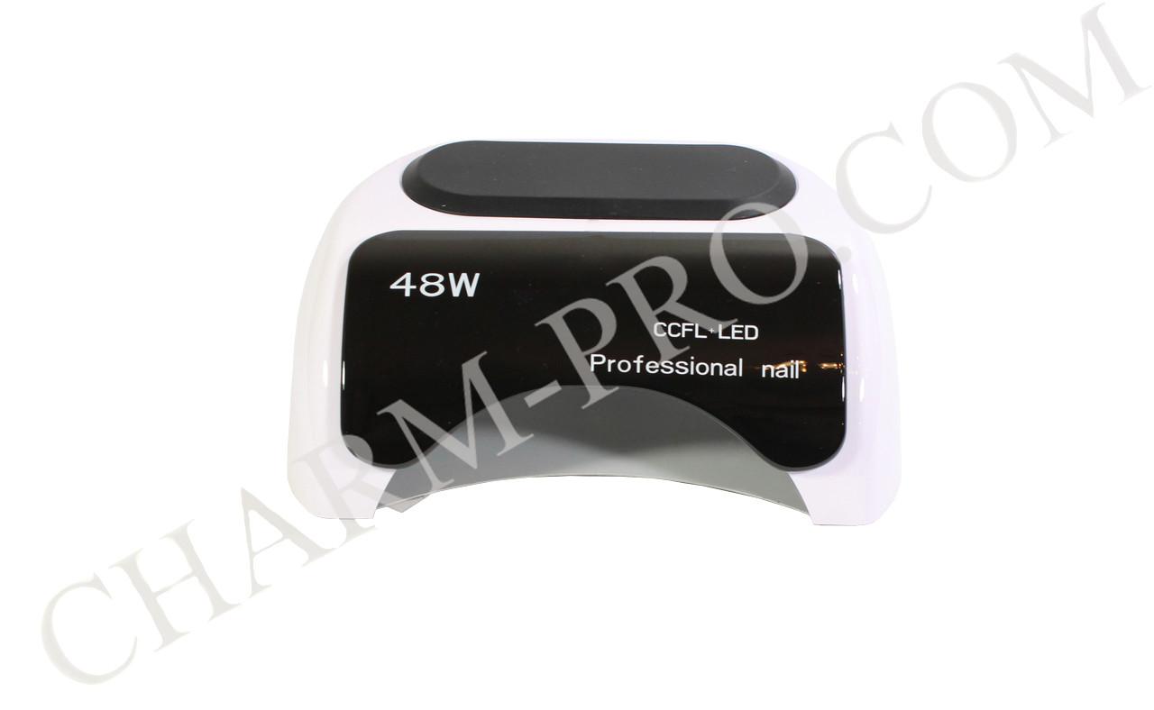 Ультрафиолетовая лампа Nail Professional LED+CCFL 48W (белая)