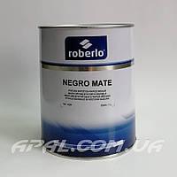 Roberlo NEGRO MATE Однокомпонентная черная матовая краска, 1л
