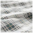 Комплект постельного белья IKEA NORDRUTA 200х200 см белый синий 803.798.61, фото 3
