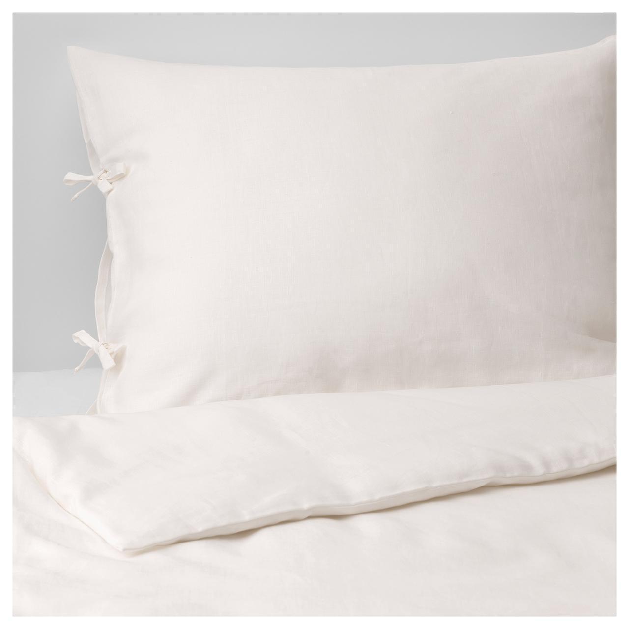 Комплект постельного белья IKEA PUDERVIVA 150х200 см белый 303.984.52