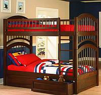 Двухъярусная кровать «Артемон» с ящиками