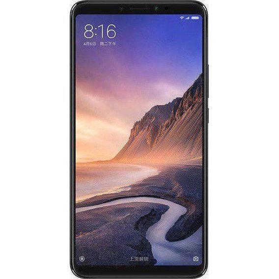 Смартфон Xiaomi mi Max 3 4/64 Black Global Version