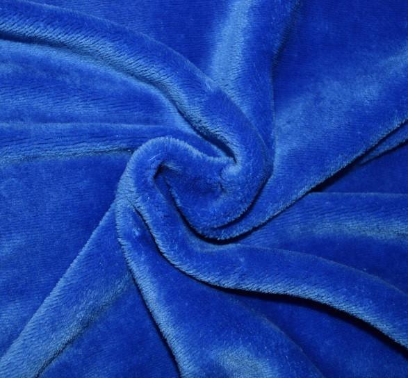 Ткань махра велсофт однотонная
