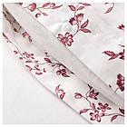 Комплект постельного белья IKEA HÄSSLEKLOCKA 150х200 см розовый с цветочным узором 403.902.95, фото 2