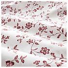 Комплект постельного белья IKEA HÄSSLEKLOCKA 150х200 см розовый с цветочным узором 403.902.95, фото 3