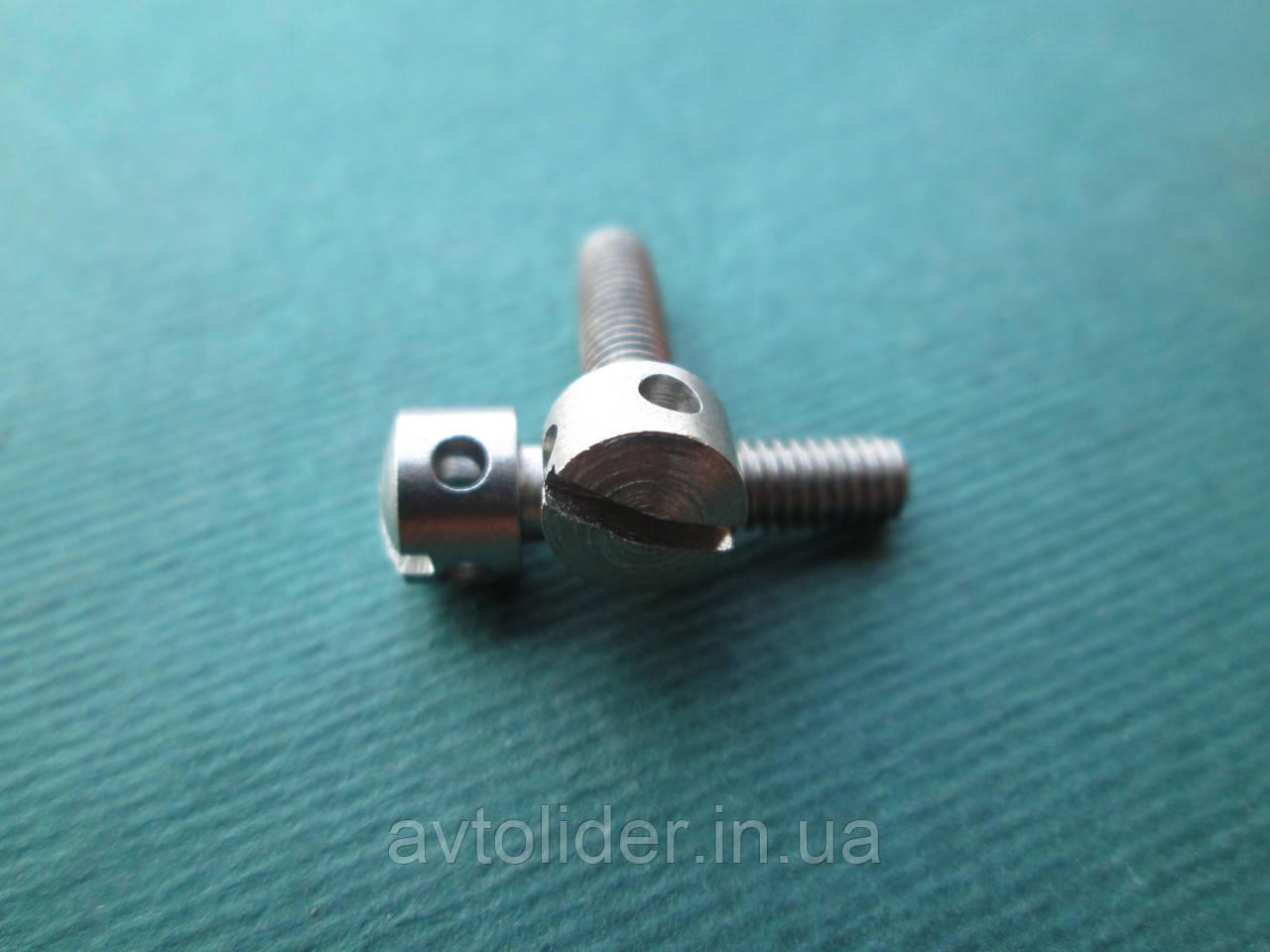 DIN 404 : нержавеющий винт пломбировочный с цилиндрической головкой и двумя радиальными отверстиями