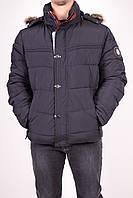 Куртка мужская из плащёвки зимняя (цв.тёмно-синий) PANDA