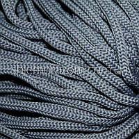 Шнур 5 мм серый 100м