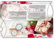 Упаковка подарочная Розы