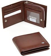 Кожаное портмоне для мужчин Dr.Bond М5430 brown, фото 1
