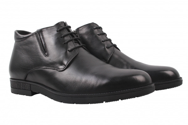 Ботинки Salenor натуральная кожа, цвет черный