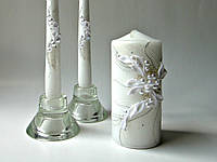 Набор свадебных свечей Bispol 3 шт (С-926)