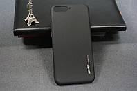Чехол бампер силиконовый Huawei Y6 2018 (ATU-L21) Хуавей цвет черный (SMTT) Soft-touch