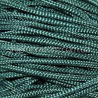 Шнур полужесткий 5 мм сине-зеленый 100м