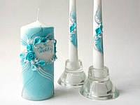 Набор свадебных свечей Bispol 3 шт (С-801)