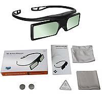 G15-BT 3D видео очки с активным затвором для телевизоров Blu-ray + батарейки + чехол