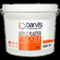 Акриловая штукатурка BARVIS Facade Acrylic Plaster K15 25 кг