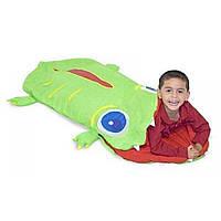 Спальный мешок Крокодильчик Оги. MD16208 Melissa&Doug