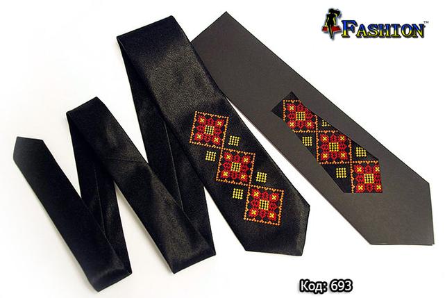 Детский вышитый галстук Эльдар, фото 2