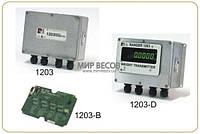 Весовой индикатор Rinstrum WT 1203 алюминий/ в корпусе IP65 с дисплеем