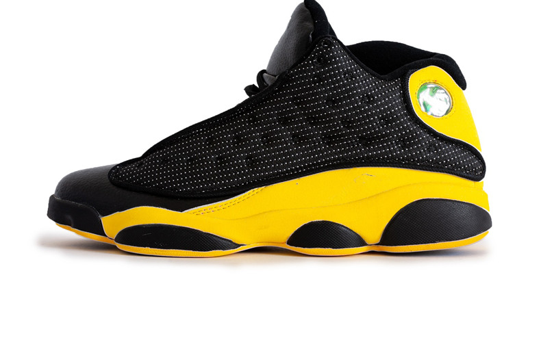 buy popular bea4b eef2a Баскетбольные кроссовки Nike Air Jordan 13 Retro Black/Yellow