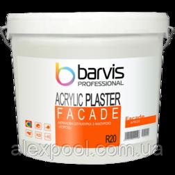 Акрилова штукатурка BARVIS Facade Acrylic R 20 25 кг