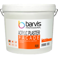 Акриловая штукатурка BARVIS Facade Acrylic R 20 25 кг