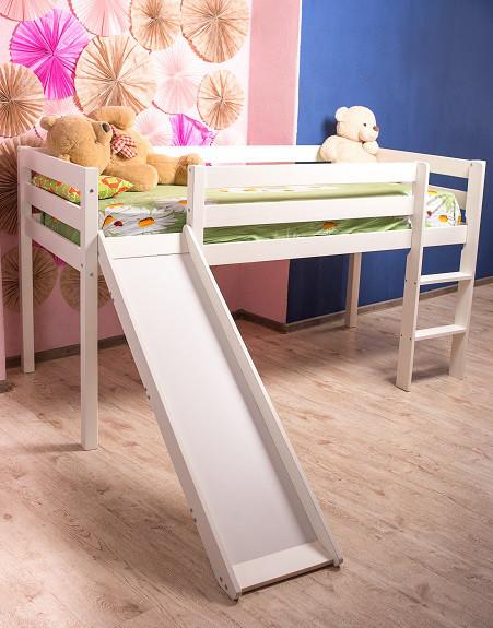 Кровать детская Микс-Лайн - Джулия 3054 (с горкой и лестницей)