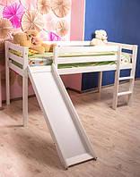 Кровать детская - Джулия 3054 (с горкой и лестницей)