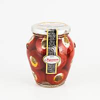 Консервированный перец фаршированный сыром рикоттой и каперсами S.A.Tos (Италия) 280/200г