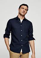Осенняя льняная одежда. Льняная рубашка и брюки. Цвет льна на выбор. Размер одежды от XS- 12XL, фото 1