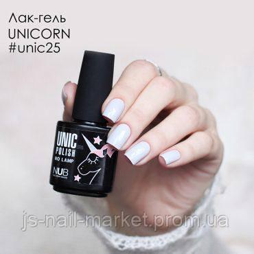Лак-гель NUB UNICORN 25